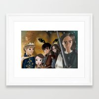 narnia Framed Art Prints featuring Narnia by BellaG studio