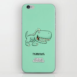 Tyrannotooth iPhone Skin