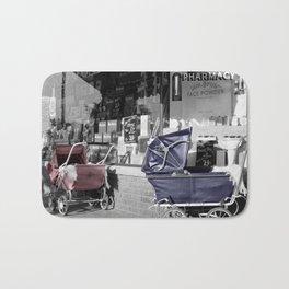 Vintage Baby Strollers Bath Mat