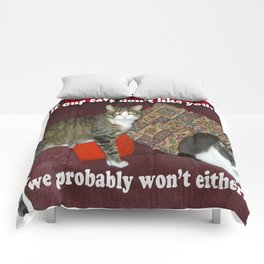 Cat Meme Comforters