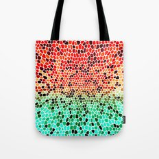 THINK MINTY ORANGE Tote Bag