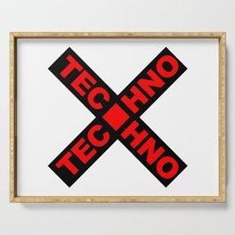 Techno Serving Tray