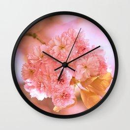 Sakura - Cherryblossom - Cherry blossom - Pink flowers 2 Wall Clock