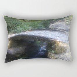 Mystical Bridge Rectangular Pillow
