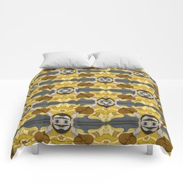 Unibrow Boxer Tessellation Comforters