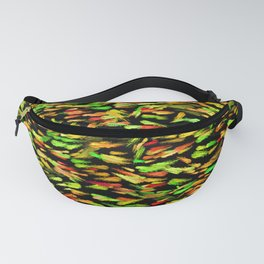 Colorful School of Fish Fanny Pack