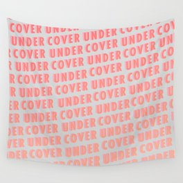 Undercover - Typography Wall Tapestry