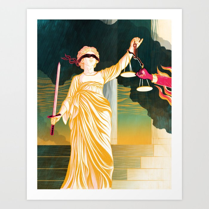 GOVERNMENT & JUSTICE Art Print