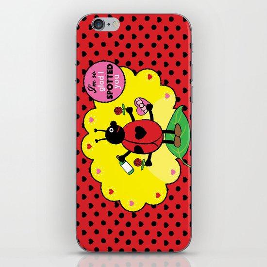 Lovebugs - I'm so glad I spotted you iPhone & iPod Skin