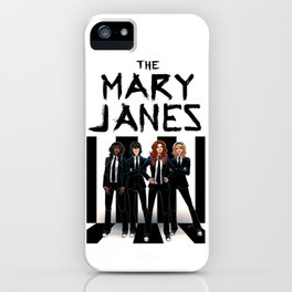 The Mary Janes iPhone Case