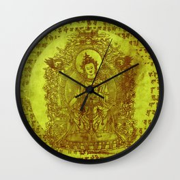 The Enlightened (Green) Wall Clock