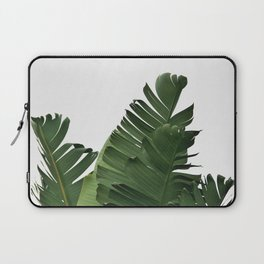Minimal Banana Leaves Laptop Sleeve