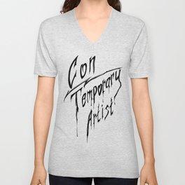Con|Temporary Artist Unisex V-Neck