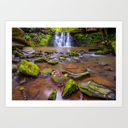 Goit Stock Waterfall Art Print