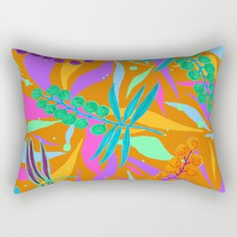 Orange Wat Rectangular Pillow