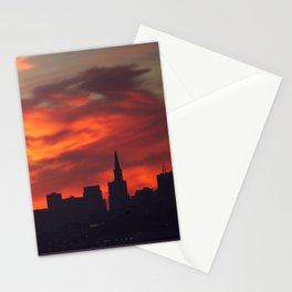 A Dragon over San Francisco Stationery Cards