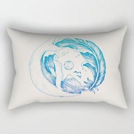 Fly High/Swim Deep Rectangular Pillow
