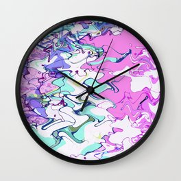 Cellular Disco Party Wall Clock