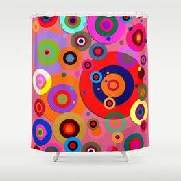 Op Art #18 Shower Curtain