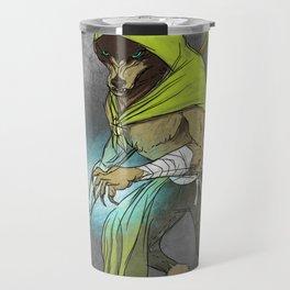 Wolf Mage Travel Mug