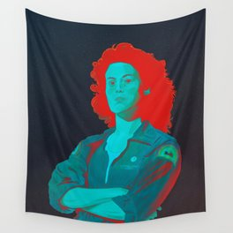 Officer Ripley (red version) Wall Tapestry