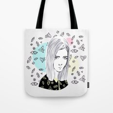 you are my geometric desire... Tote Bag