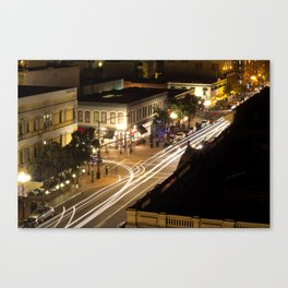 Speed of the Night Canvas Print