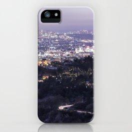 Los Angeles Nightscape No. 2 iPhone Case