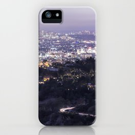 Los Angeles Nightscape No. 2 iPhone Case