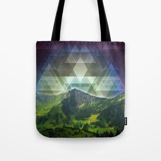 Geometric Nature Tote Bag