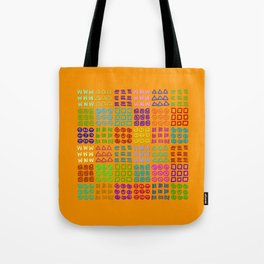 Aztec Wannabe (Orange) Tote Bag