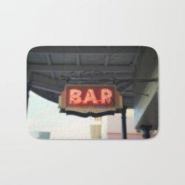 New Orleans Bar Sign Bath Mat