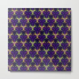 Pattern Franziska Metal Print