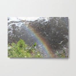 Rainbow at Tahquamenon Falls Metal Print