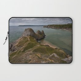 Three Cliffs Bay and the Great Tor Laptop Sleeve