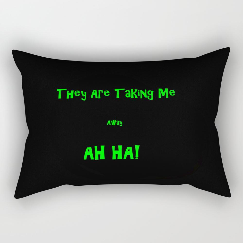 Crazy Enough... Rectangular Pillow RPW8814821