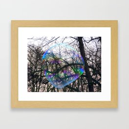 Floats Framed Art Print