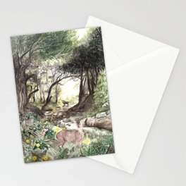 Montecito - Landscape Art Print Stationery Cards