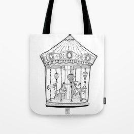 The Carousel - Circus fun #1 Tote Bag