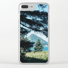 Hidden Mountain Clear iPhone Case