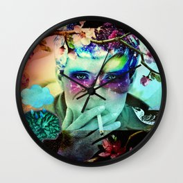 Dead and Famous: Ian Curtis (Joy Division) Wall Clock