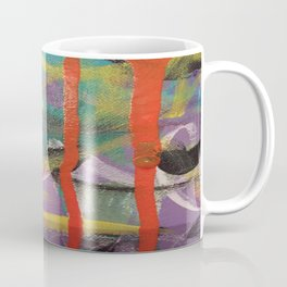 Paint Runs & Drips Mark Making - Third in Series Coffee Mug