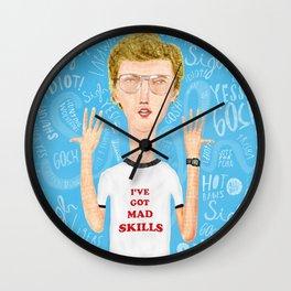 Napoleon, what do you think? Gosh! Wall Clock