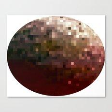 Planet Pixel 1 Canvas Print