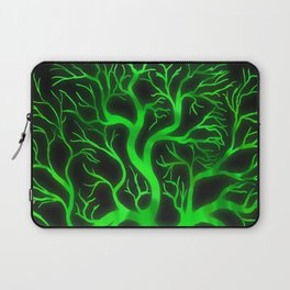 Emerald Branches Laptop Sleeve