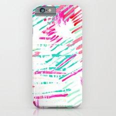 Pastel Lines iPhone 6s Slim Case