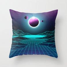 Sega Planet Throw Pillow