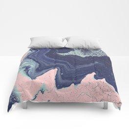 Fluid No. 11 - Geode Comforters
