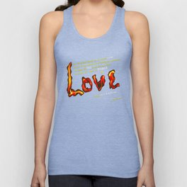 Love's Flame Unisex Tank Top