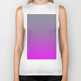 GET LOST - Minimal Plain Soft Mood Color Blend Prints Biker Tank